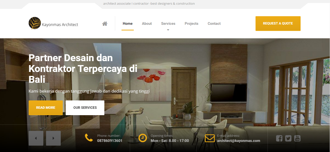sistem management booking hotel